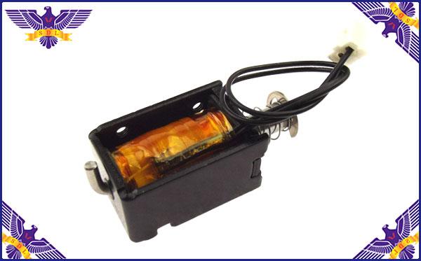 汽车大灯变光用推拉式电磁铁产品定做